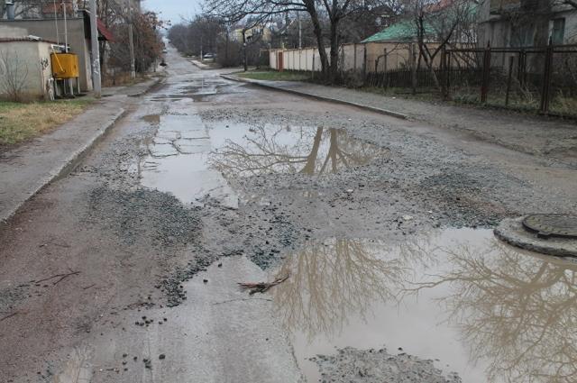 Симферопольские дороги, отремонтированные в 2015 году