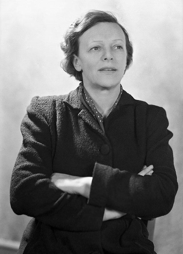 Татьяна Пельтцер в молодости.