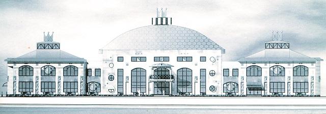 Так мог бы выглядеть цирк, если бы первый проект реконструкции не был отклонен