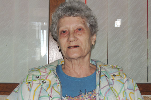 Тамара Волгина только что сдала свои документы на паспорт