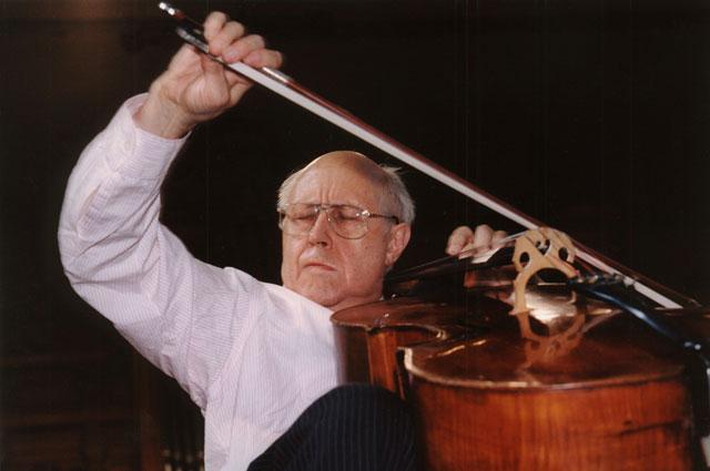 Мстислав Ростропович. 2003 год