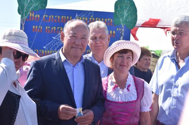 Глава Любинского района Абай Ракимжанов.