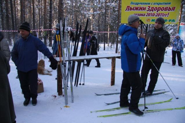 В парке хотят обустроить лыжню.