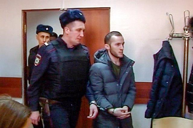 Пранкер Кароматулло Джаборов в Черемушкинском районном суде Москвы.