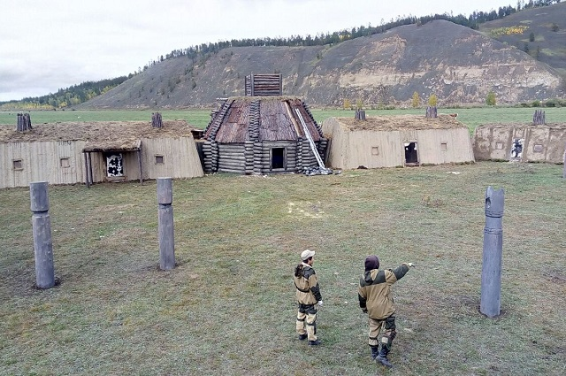 В Амгинском районе была построена целая деревня Тыгына.