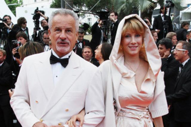 Бывший помощник президента РФ Сергей Ястржембский с супругой Анастасией