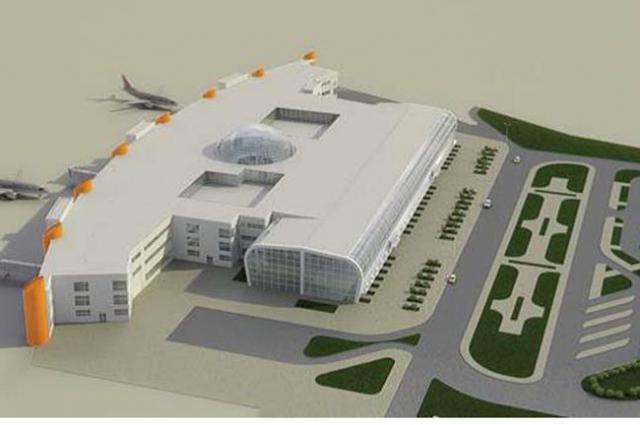 Так должен выглядеть аэропорт Храброво после реконструкции.