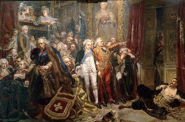 «Рейтан — упадок Польши», картина Яна Матейко.
