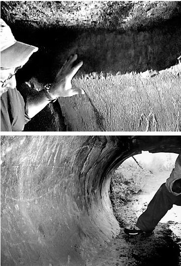 Облицовка входов в подземный мир на о. Пасхи.