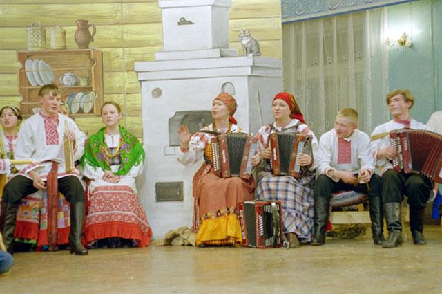 Театрализованное представление в честь Святок