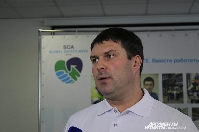 Директор фабрики в Советске Артём Лебедев