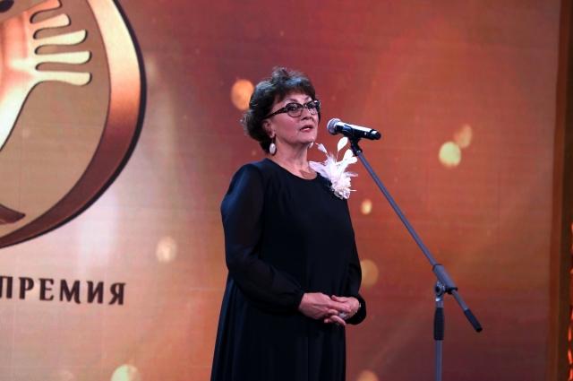 Ирина Ярославцева на национальной премии «Гармония