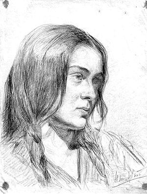 Нина Жаба. Автопортрет