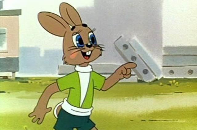 Создатель зайца точно знал, кто будет озвучивать зайца.