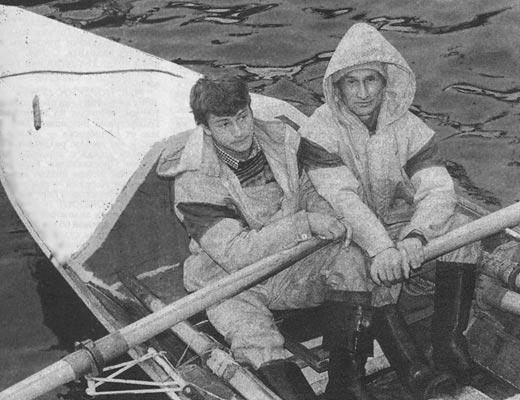 Евгений Смургис с сыном.