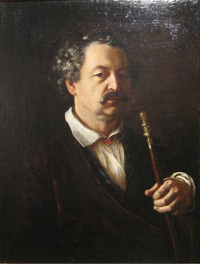 Александр Алябьев на портрете работы Тропинина
