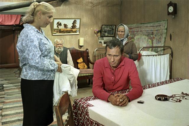 «Калина красная». Дуэт был настолько органичен, что зрители безоговорочно приняли пару.