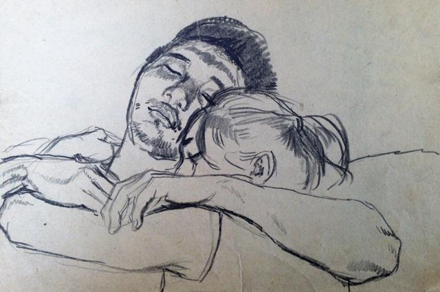 Рисунок Татьяны Яблонской.