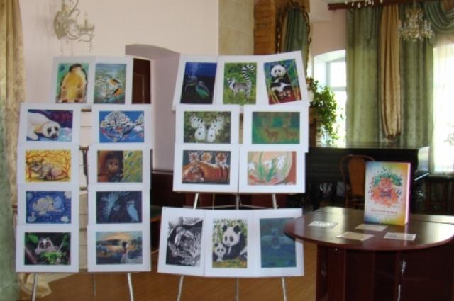 Музей флоры и фауны Югры в произведениях искусства -  в скульптуре, живописи, графике, фотографии.