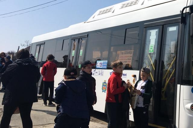 На 9 мая в Омске будут задействованы резервы автобусов.
