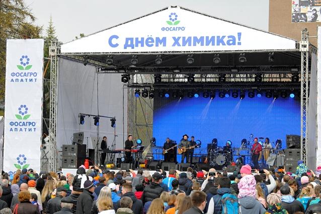 Выступление латвийской группы Brainstorm надолго запомнится апатитчанам и гостям города.