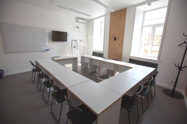Занятия проходят в комфортных классах.