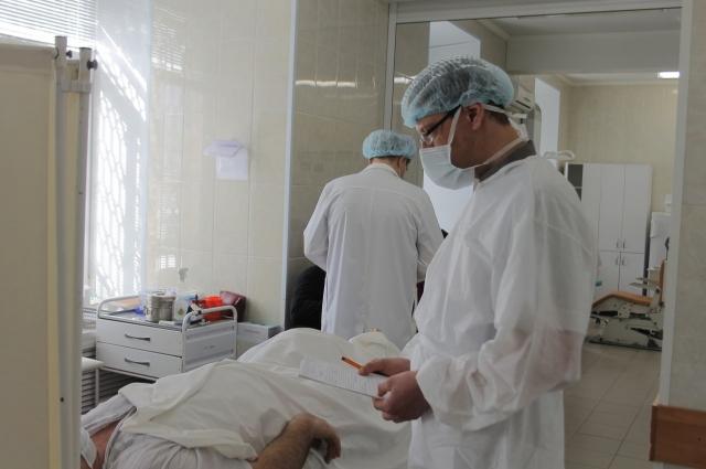 Госпитализация пациента с травмой.