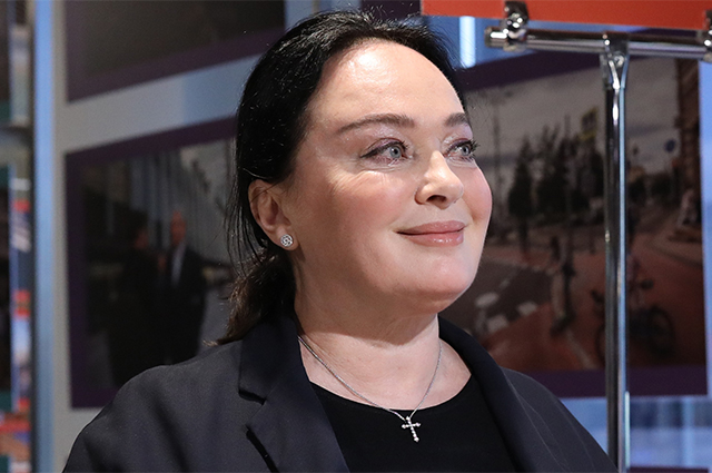 Заслуженная артистка РФ Лариса Гузеева.