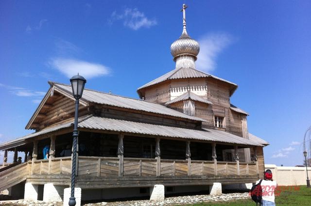 Свияжск, памятник деревянного зодчества