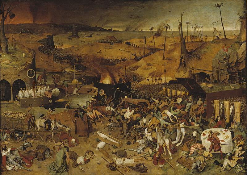 Питер Брейгель Старший, «Триумф смерти», 1562