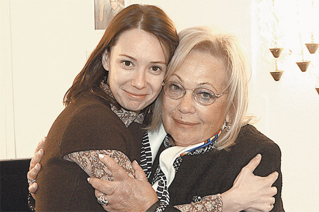 Чулпан Хаматова - одна из ведущих актрис Современника и одна из любимых актрис Галины Волчек