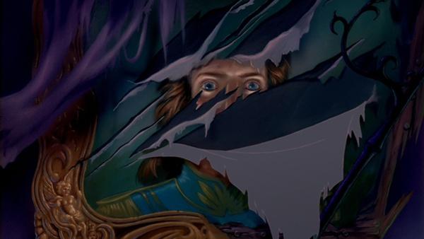 Портрет Чудовища в человеческом облике из мультфильма 1991 года.
