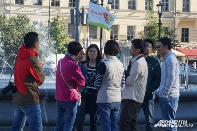 Китайцы любят посещать объекты, связанные с советской историей.