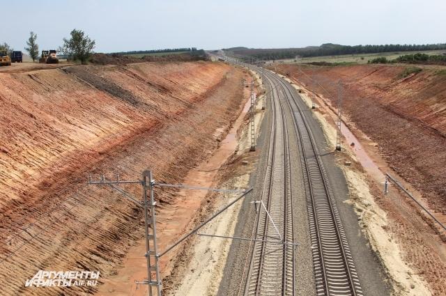 Новая железная дорога в обход Украины. Станция Кутейниково (Чертковский район).