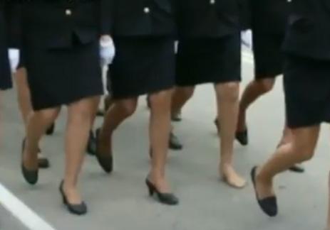 потеряла туфлю