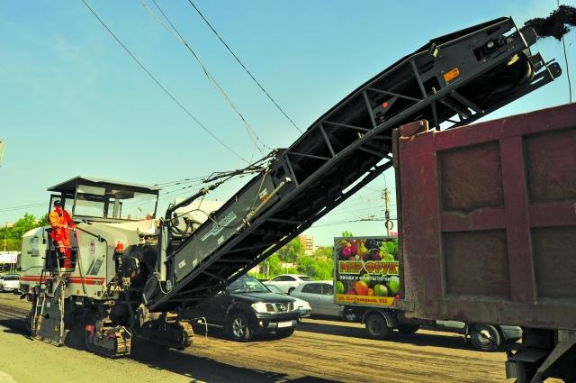 В Омске роемонтируют магистрали по программе