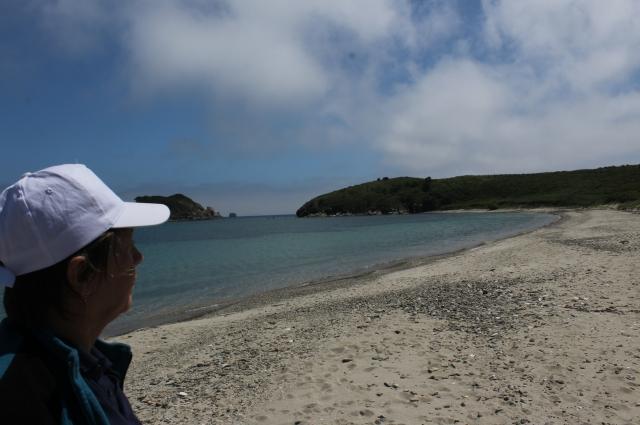 Побережье заповедника манит белым песком и чистым морем.