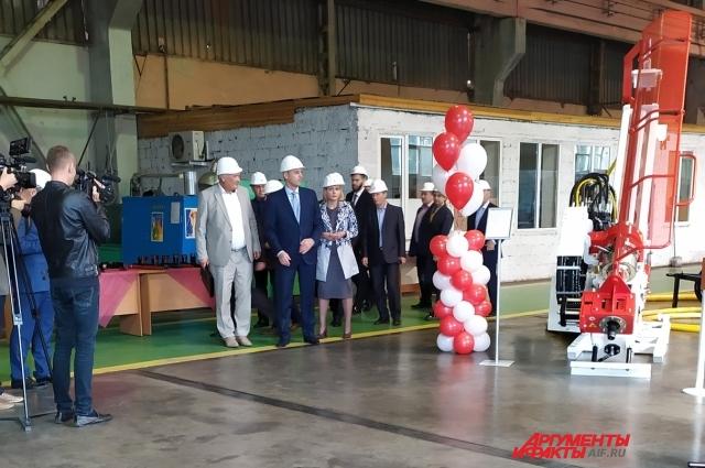 Завод стал первым в России производством, получившим маркировку CE на подобный продукт.