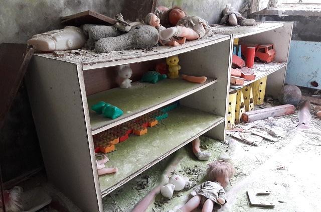 Детский сад в Припяти.