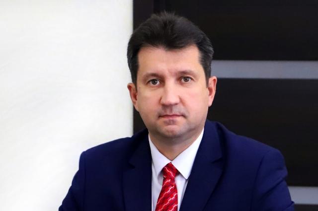 Мэр Усольского района Виталий Матюха.
