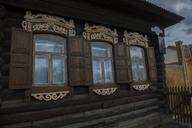 Дом-музей Михаила Ульянова в Таре.