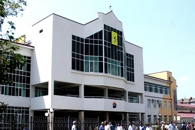 Новая школа в Беслане (Северная Осетия). Её построили вместо той, которая была разрушена террористами в сентябре 2004 года