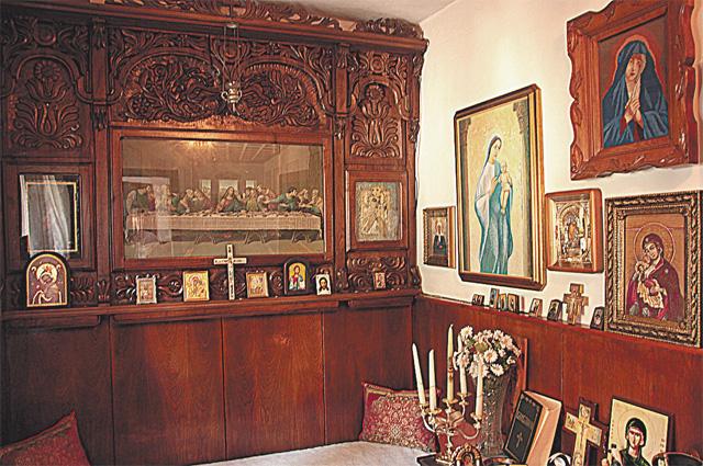 Молельная в доме Ванги