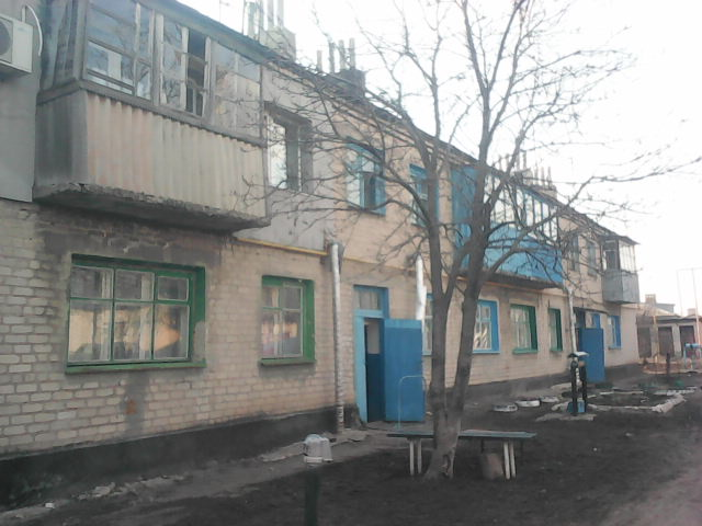 Дом МПС, где живёт семья Василия Мормуля