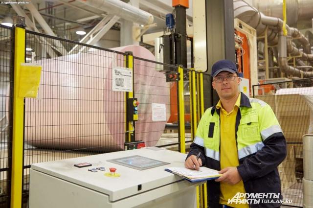 Неделя безопасности на фабрике SCA.