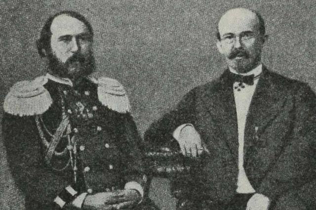 Павел Обухов и Николай Путилов.
