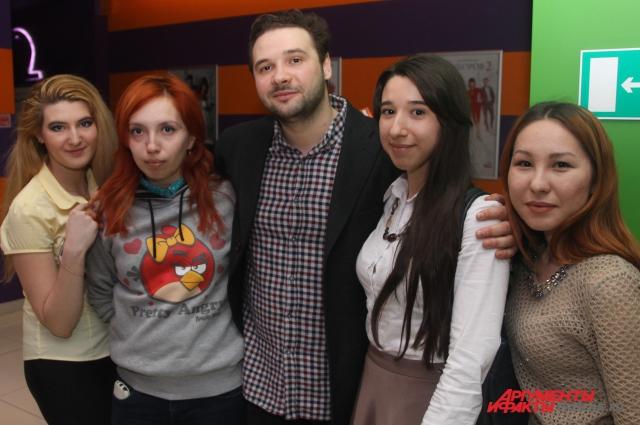 Режиссер фильма «Васенин» Андрей Григорьев с журналистами АиФ Оренбург