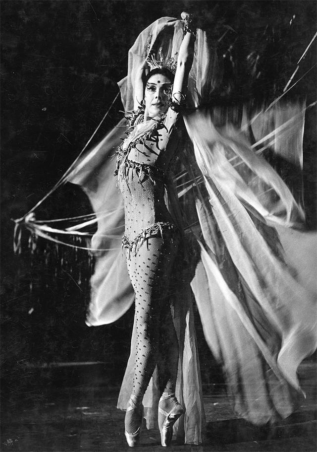 Марго Фонтейн в Фестивальном театре Эдинбурга. 1960 год.