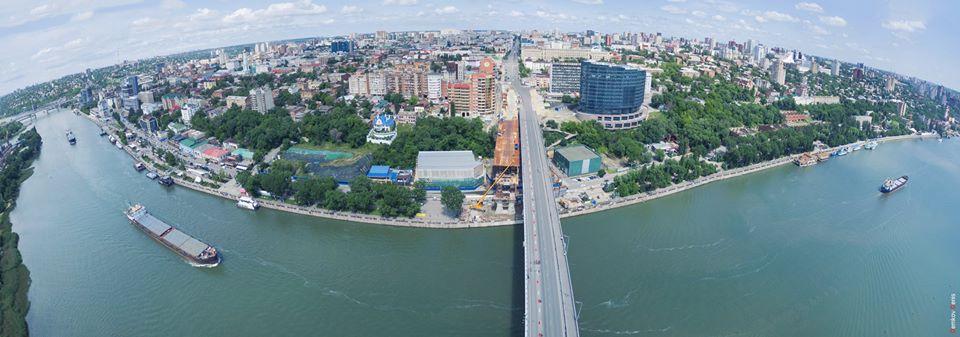 так выглядит Ростов-на-Дону с высоты птичьего полёта.
