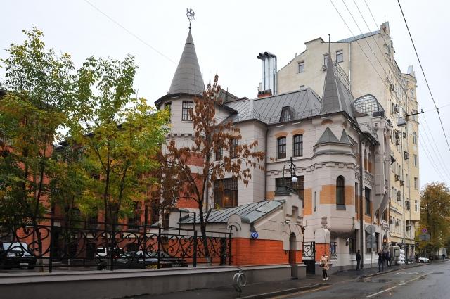 Отреставрированное здание типографии товарищества А.А. Левенсона